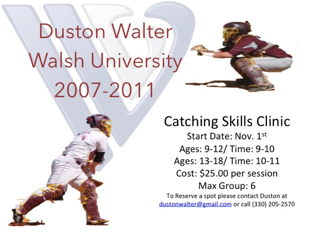 Catching Skills Clinic